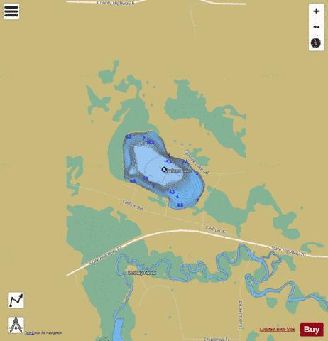 Cyclone Lake (Fishing Map : US_AA_WI_cyclone_lake_wi