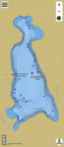 East Horsehead Lake Fishing Map - i-Boating App