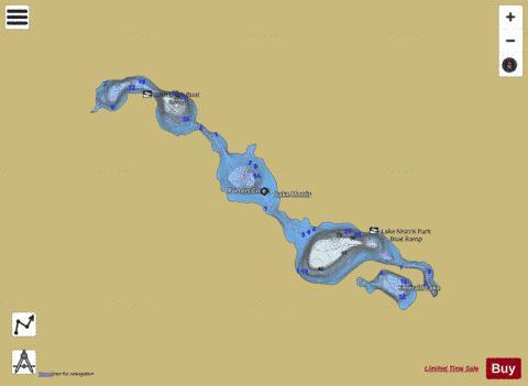 Lake Morris (Fishing Map : US_AA_WI_lake_morris_wi) | Nautical