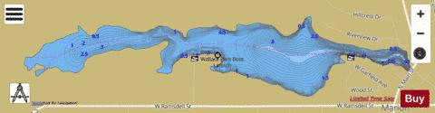 Marion Millpond Fishing Map - i-Boating App