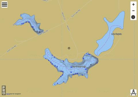 Clay County Public Fishing Lakes Fishing Map - i-Boating App