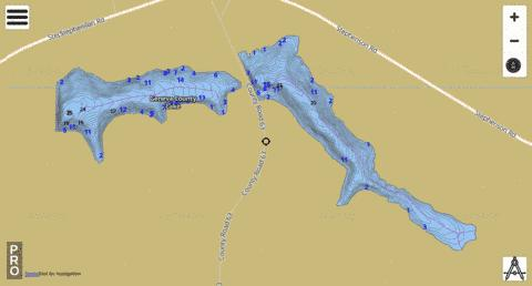 Geneva County Public Fishing Lake Fishing Map - i-Boating App