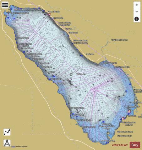 Salton Sea Fishing Map USCA00248771 Nautical Charts App