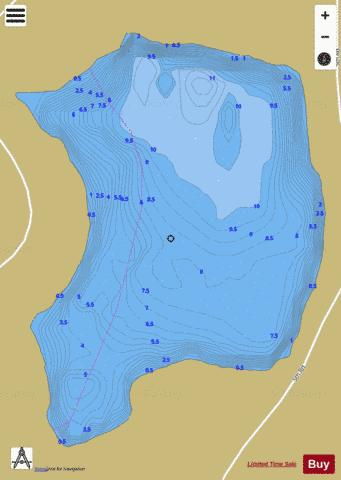 Holyrood Lake Fishing Map - i-Boating App