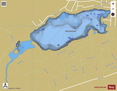 Nabnasset Pond Fishing Map - i-Boating App