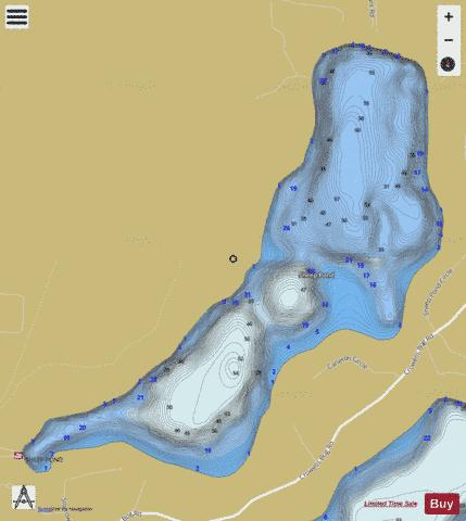 Sheep Pond Fishing Map - i-Boating App