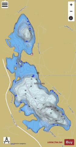 Lake Rescue Fishing Map - i-Boating App