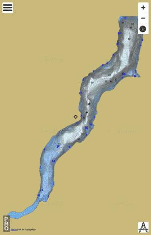 Elkwater Fork Fishing Map - i-Boating App