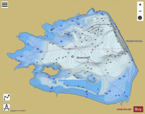 Lake standley fishing map us co 00202833 nautical for Standley lake fishing