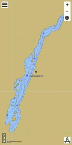 Breakneck Pond Fishing Map - i-Boating App