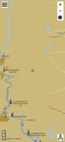 Crystal Lake Fishing Map - i-Boating App