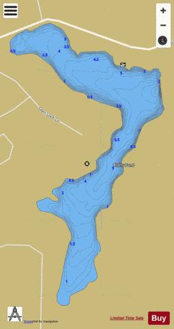 Blairs Pond Fishing Map - i-Boating App