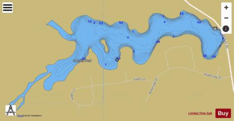 Coursey Pond Fishing Map - i-Boating App
