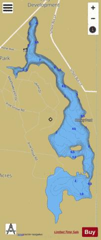 Horsey Pond Fishing Map - i-Boating App