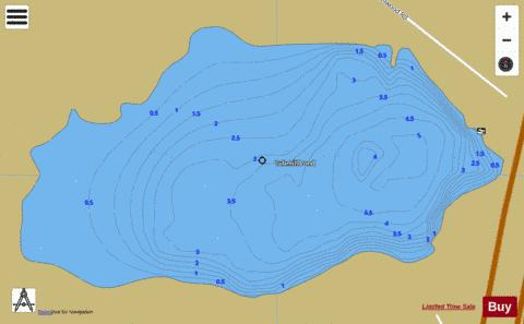 Tubmill Pond Fishing Map - i-Boating App