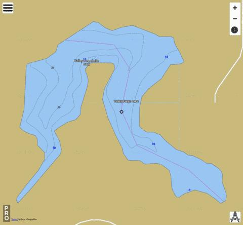 Valley Forge Lake Fishing Map - i-Boating App