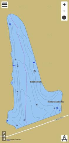 Vatterott Lake Fishing Map - i-Boating App
