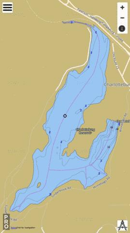 Charlotteburg Reservoir Fishing Map - i-Boating App