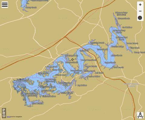 Douglas Lake ( Map : US_DL_TN_01282739) | Nautical ... on vintage topo map, united states topo map, cedar creek topo map, lake sinclair georgia map, oconee national forest topo map, ga power lake sinclair map, lake sinclair history,