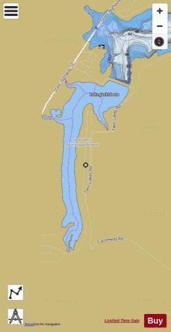 Map Of Jacksboro Texas.Lake Jacksboro Fishing Map Us Dl Tx 01338569 Nautical Charts App