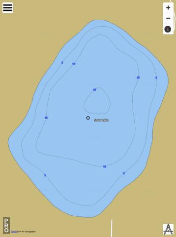Scott Lake Fishing Map - i-Boating App