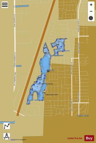 Lake Ida Fishing Map Us Fl 00284458 Nautical Charts App