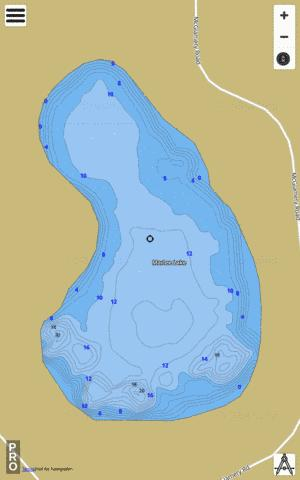 MARLEE LAKE Fishing Map - i-Boating App