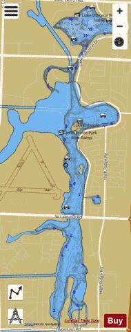 Lake Osborne Fishing Map Us Fl 00288259 Nautical Charts App