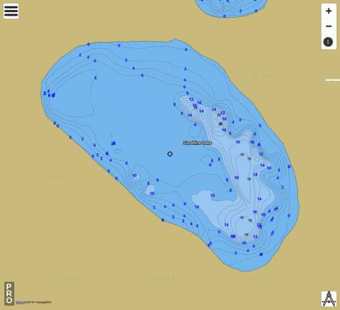 SUNSHINE LAKE Fishing Map - i-Boating App