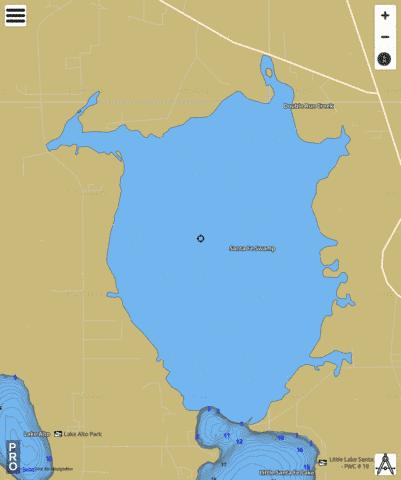 SANTA FE SWAMP Fishing Map - i-Boating App