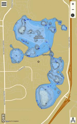 Bigsand Fishing Map - i-Boating App
