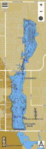 Seminole Fishing Map - i-Boating App