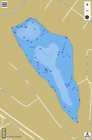 Sea Fairer Dr Lake Fishing Map - i-Boating App