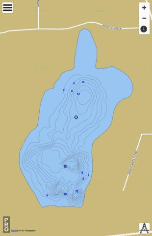 Sheryl Anita St Lake Fishing Map - i-Boating App