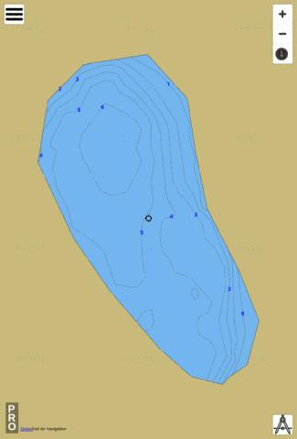 Seaman Rd Lake Fishing Map - i-Boating App