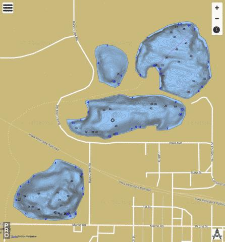 US_IA_aqp15 Fishing Map - i-Boating App