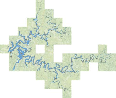 rough river lake map Rough River Lake Fishing Map Us Ky 00507317 Nautical Charts App rough river lake map