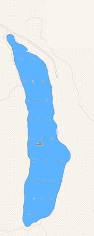 Fitts Pond Fishing Map - i-Boating App