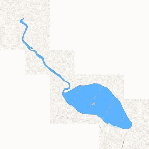 Jones Pond Fishing Map - i-Boating App