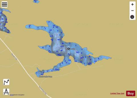 Marks Lake Fishing Map USME Nautical Charts App - Marks lake maps