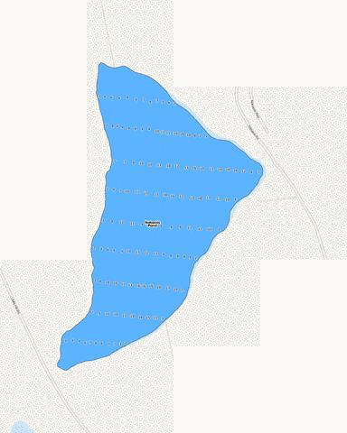 Nokomis Pond Fishing Map - i-Boating App