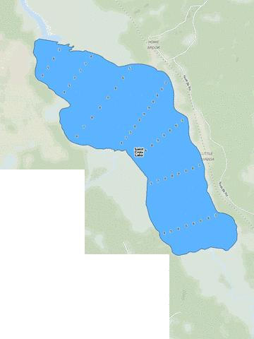 Saint Croix Lake Fishing Map - i-Boating App