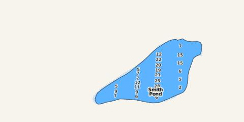 Smith Pond Fishing Map - i-Boating App