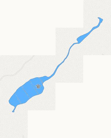 Ten Thousand Acre Pond Fishing Map - i-Boating App