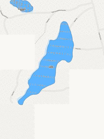Tufts Pond Fishing Map - i-Boating App