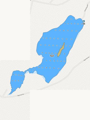 Jimmie Pond Fishing Map - i-Boating App