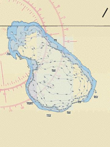 Black Lake (Fishing Map : US_MI_16_144) | Nautical Charts App