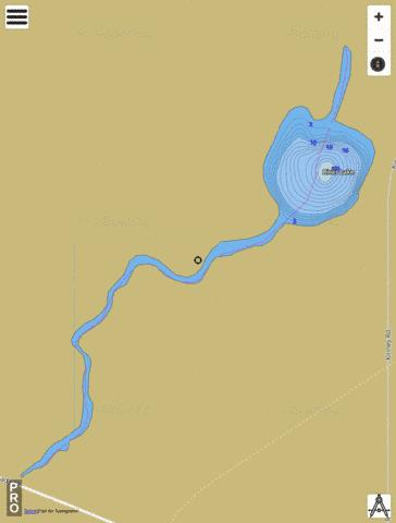 River Lake Fishing Map - i-Boating App