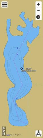 Middle Eighteenmile La Fishing Map - i-Boating App