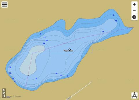 Finger Lake Fishing Map - i-Boating App